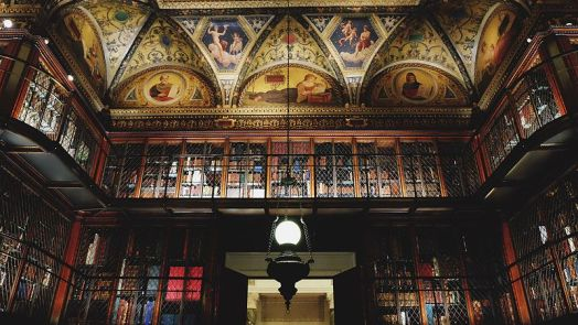 looking_up_at_the_morgan_library